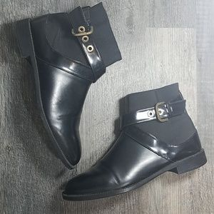 Zara Trafaluc Ankle Buckle Boots